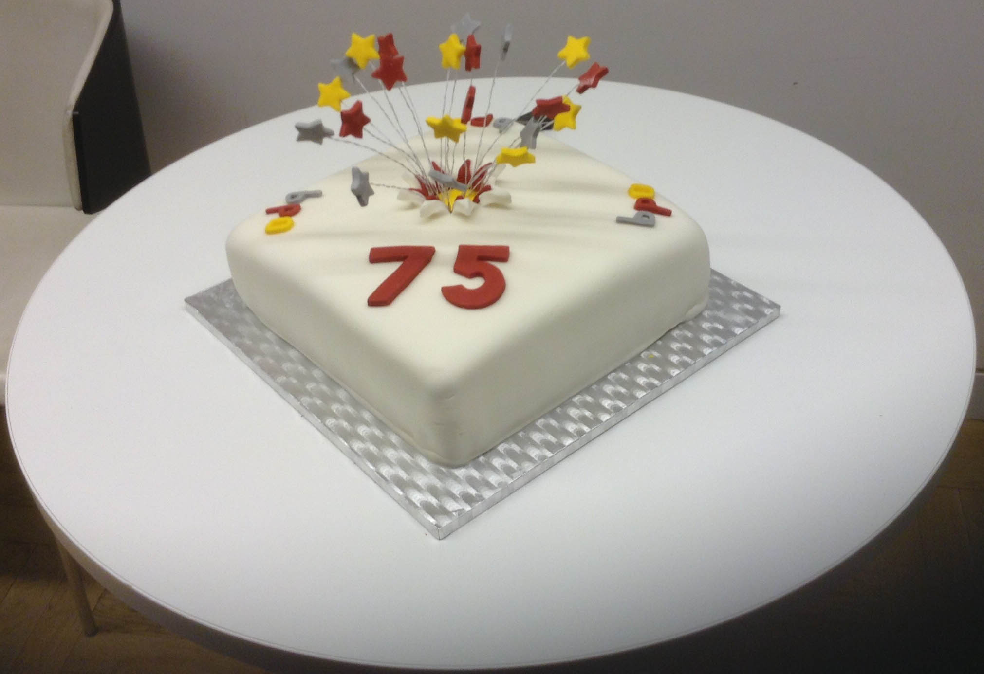 Our 75th Birthday Cake